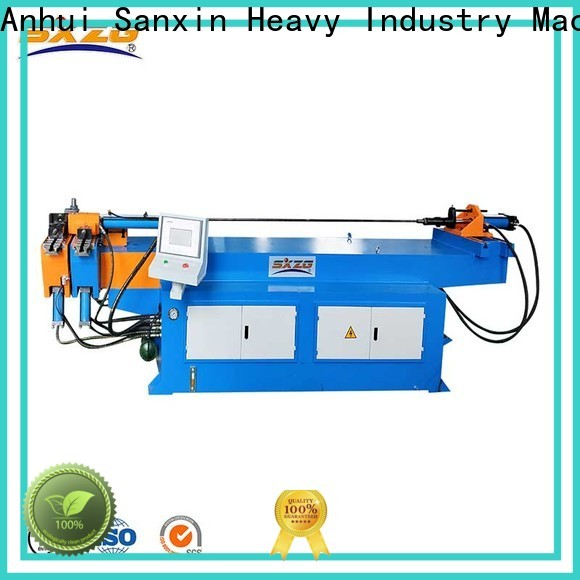 SXZG electric hydraulic tube bender suppliers for handrails production line