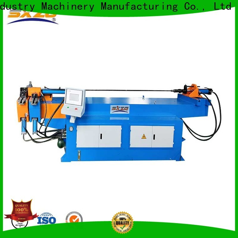 SXZG motorised pipe bending machine company for tubing bending