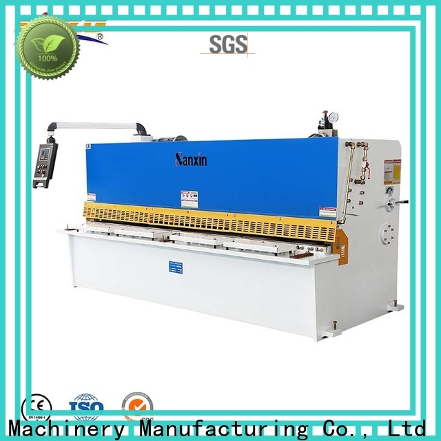 SXZG hydraulic shearing machine function for business for cutting of alloys