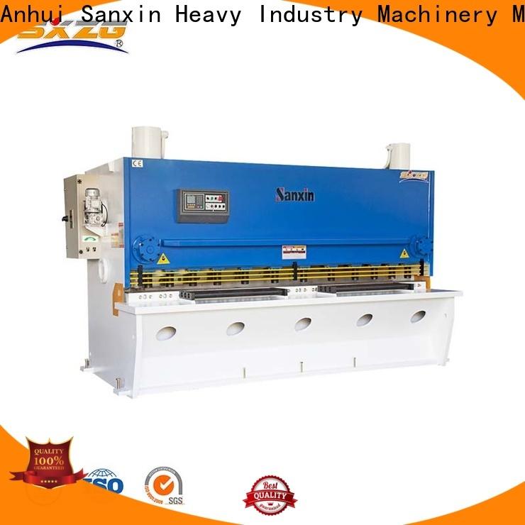 SXZG press brake operator supply for cutting metal into sheets