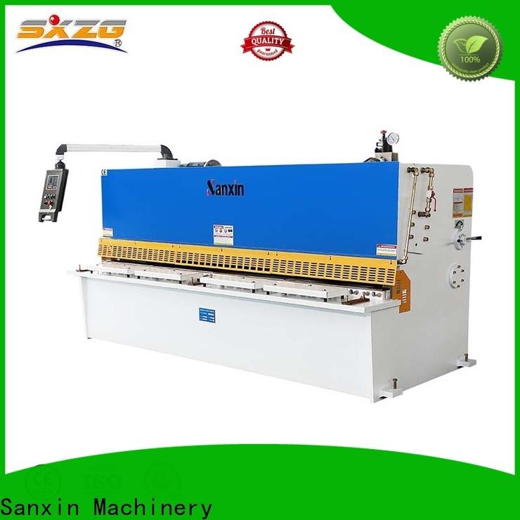 Latest 48 sheet metal shear factory for cutting the sheet metal