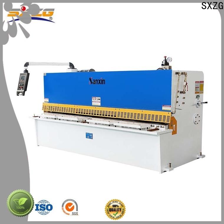 SXZG rotary shearing machine factory for cutting metal into sheets