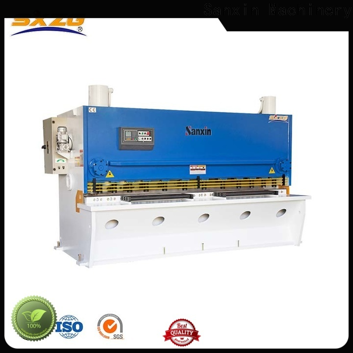 SXZG shearing machine blade material specification company for cutting the sheet metal