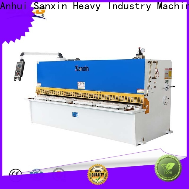 SXZG Top used sheet metal machinery suppliers for cutting of alloys