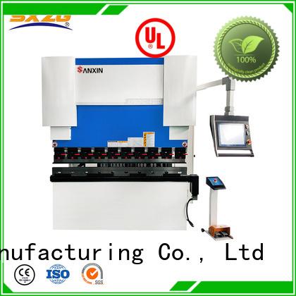 Custom best press break factory for bending a metal sheet