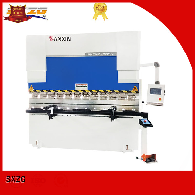 Top hydraulic press brake plans supply for bending a metal plate