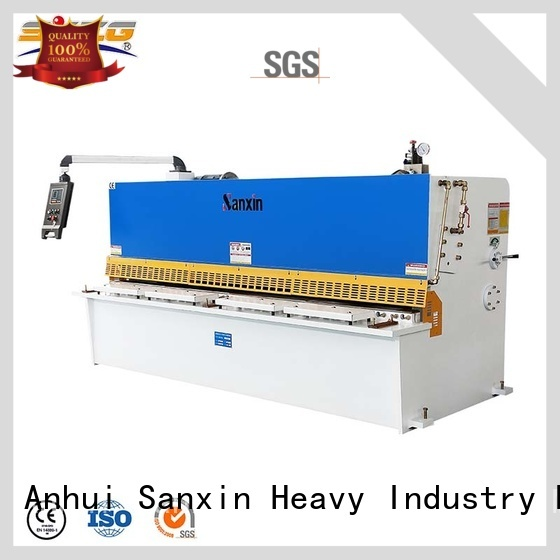 SXZG New steel shearing machine suppliers for cutting the sheet metal