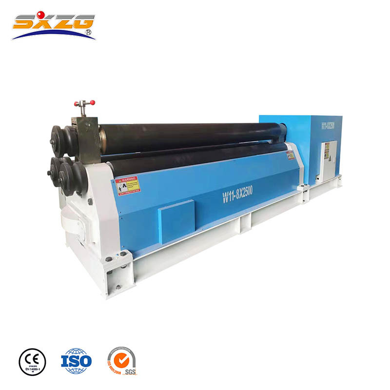 Manual Eletronical Rolling Machine For Sheet Metal W11-6x3200