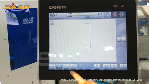 Hydraulic CNC Sheet Metal Bending Machine with DA58T Touch Screen Controller 4+1 Axis