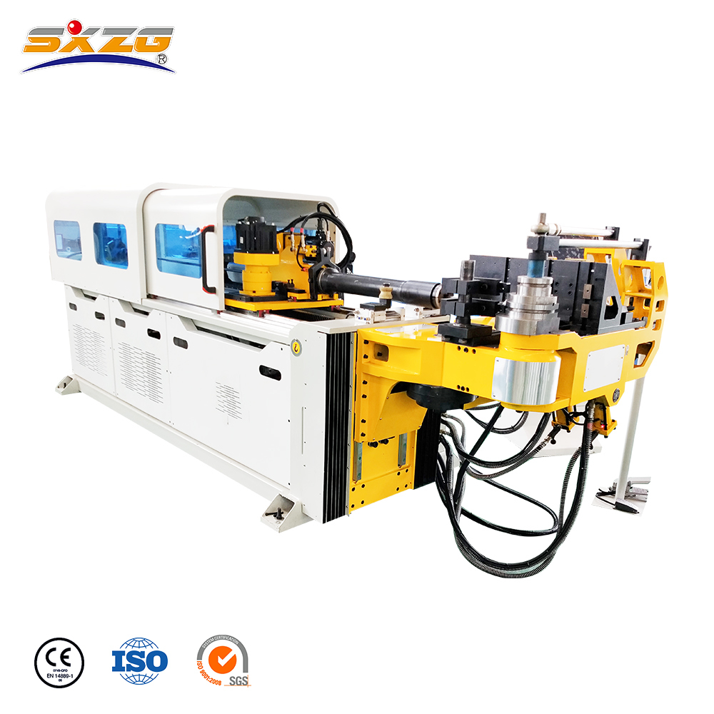 DW38CNC-5A-2SV 5 Axis Hydraulic CNC Pipe Bending Machine