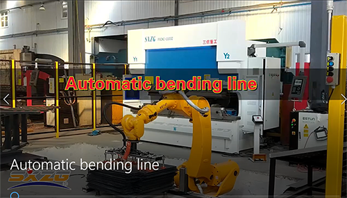 DA52S SYSTEM CNC STEEL BENDING MACHINE LINE WITH ROBOT