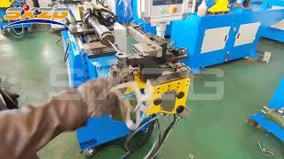 18CNC3A1S CNC Pipe Bender for Small Pipes and Round Steel Bar 10mm 12mm 18mm
