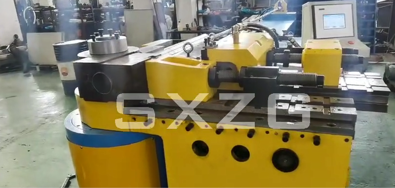 100NC Pipe And Tube Bending Machine Video For 2.5 Inch and 3 Inch Stainless Steel Pipe