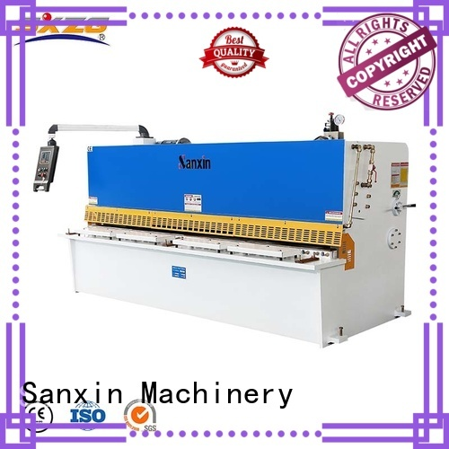 SXZG Latest hydraulic guillotine shearing machine specifications factory for cutting of alloys