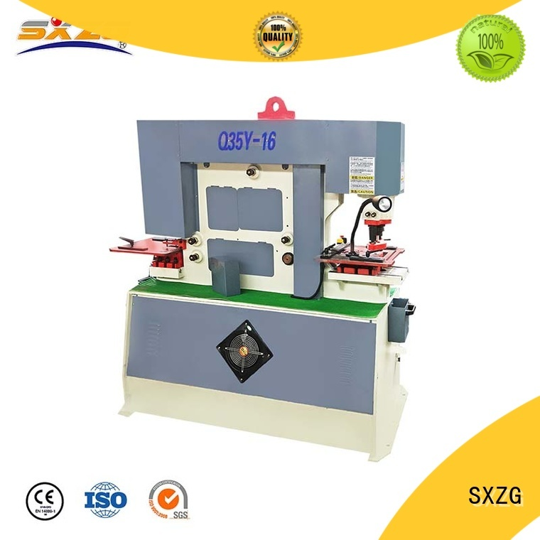 SXZG industrial press machine company for bending a metal plate