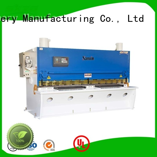 Top shearing machine blade clearance suppliers for cutting the sheet metal
