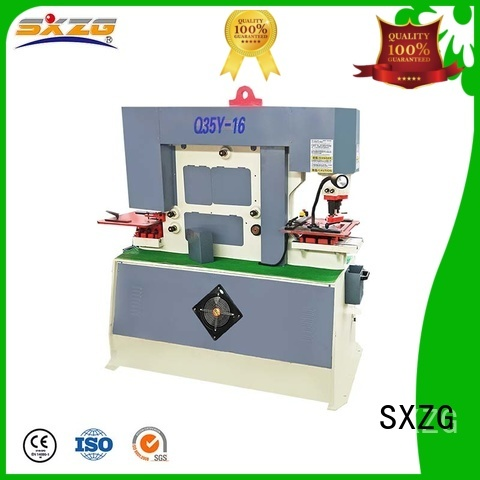 SXZG what is a good heat press machine factory for bending a metal plate
