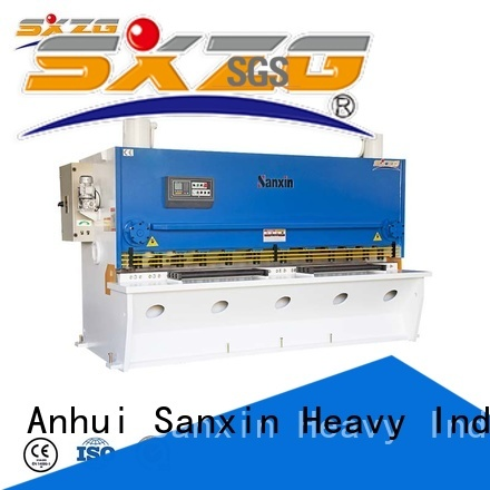 New hydraulic shear cutting machine for business for cutting of alloys