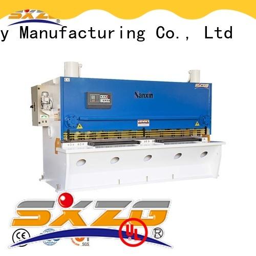 SXZG textile shearing machine company for cutting metal into sheets