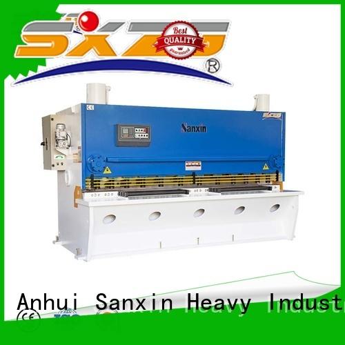 SXZG shearing press machine company for cutting the sheet metal