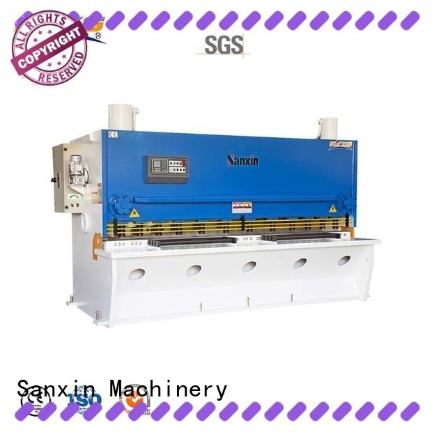 SXZG metal plate shear manufacturers for cutting the sheet metal