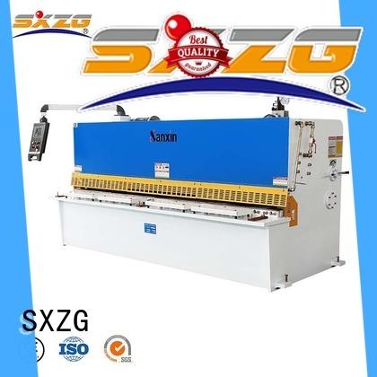 SXZG High-quality portable sheet metal shear factory for cutting the sheet metal