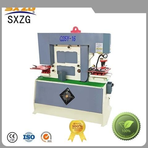 SXZG Top platen press machine manufacturers for bending a metal sheet