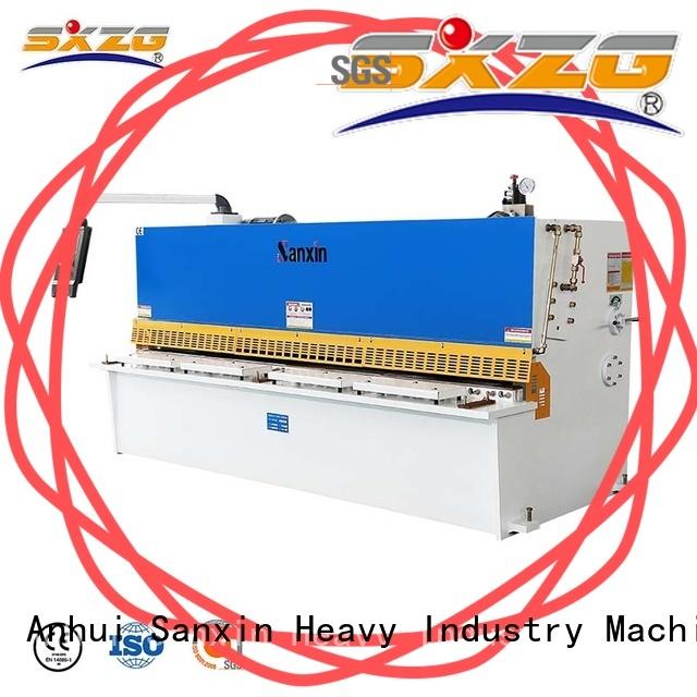 SXZG horner shearing machine factory for cutting metal into sheets